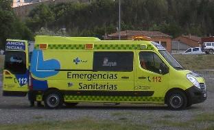 Atendido un joven de 15 años en un incendio en Aranda de Duero