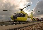 Un motorista ha resultado herido grave en un accidente en la BU-610