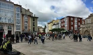 Menos turistas en julio en Burgos por la menor llegada de españoles