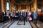 Representantes de embajadas europeas y americanas abordan en Burgos el Diálogo Social