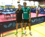 Carlos Vedriel y Diogo Pinho compiten en el Iberoamericano