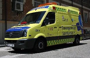 Fallece un motorista en Aranda de Duero