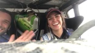 La burgalesa Cristina Gutiérrez logra acabar el Rally Dakar