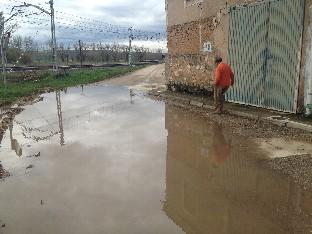 Cs pide responsabilidades ante los destrozos causados por el AVE en Quintanilla de las Carretas