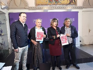 La primera concentración de peñas de la provincia se celebra en Melgar de Fernamental