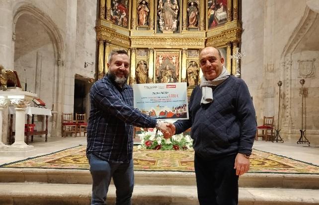 La Iglesia de Santa María de Aranda de Duero rehabilitará sus puertas del siglo XVI con la recaudación de Sonorama Ribera - BurgosNoticias