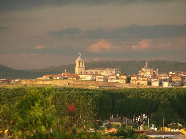 Vista general de Ciudad Rodrigo