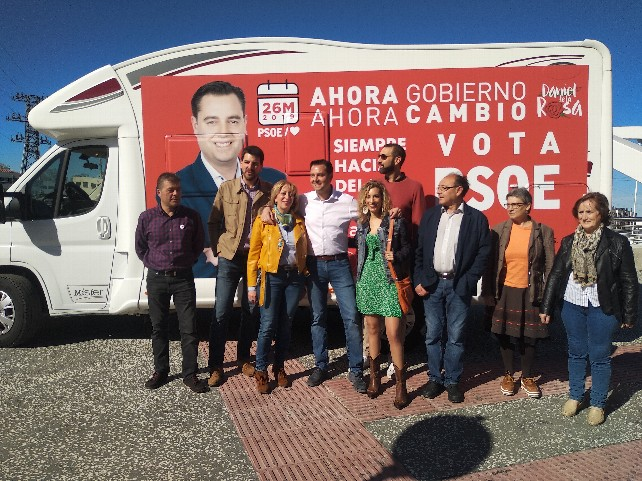 PSOE-caravana