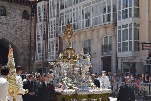 Alfombra de flores para el Corpus Christi - Nacionales