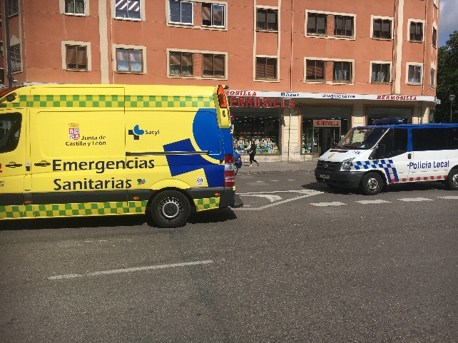 ambulancia avda cid