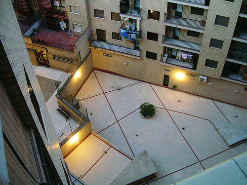 vivienda patio interior