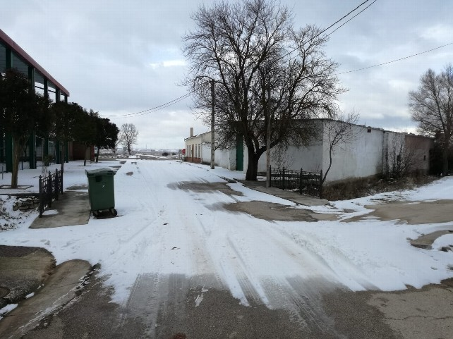 pueblo nieve