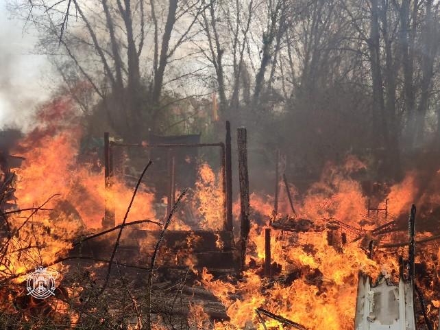 fuego bomberos ventilla caseta