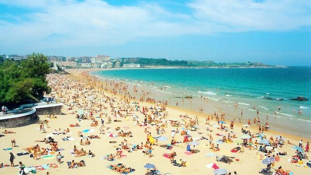 Playa-Sardinero- Santander