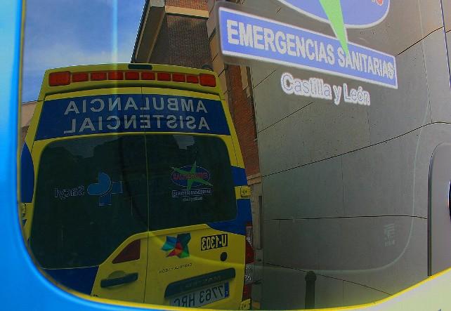 ambulancia 112 emergencias accidente