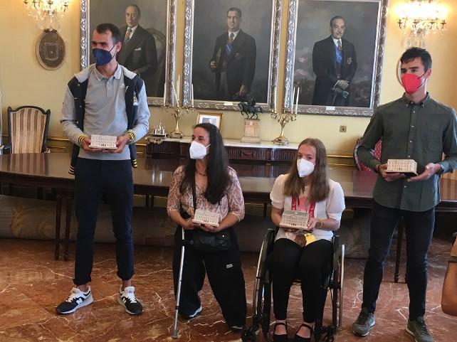 Homenajeados los deportistas burgaleses olímpicos y paralímpicos - Burgos  Noticias | - Diario Digital de Burgos - Información, Noticias y Actualidad